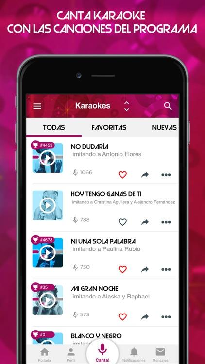 Tu cara me suena - Karaoke app