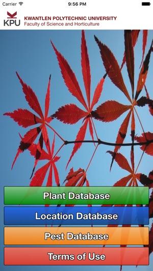 KPU Plant Database - Lite on the App Store