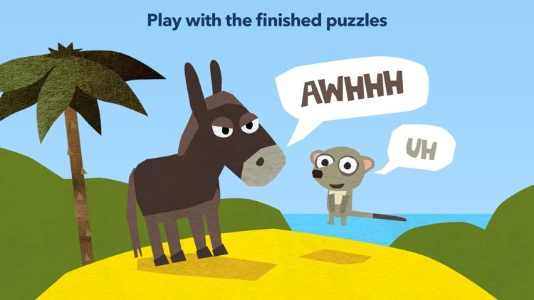 Fiete Puzzle - Kids Games with Animals screenshot-3