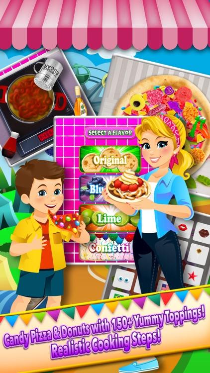 Theme Park Fair Food Maker Candy Dessert Cook Game screenshot-4