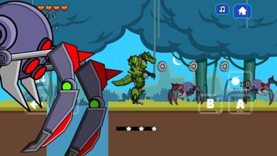 Robot Crocodile Toy Robot War screenshot one