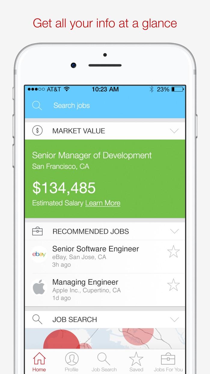 Dice Careers Screenshot