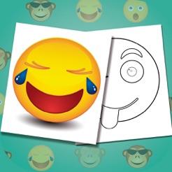 Emoji Yi Boyama Kitabi Komik Ifadeleri Boya App Store Da