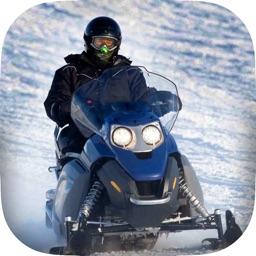 A Frozen Cold Snowmobile Blitz Extreme - Snow Winter Mountain Race Game Free