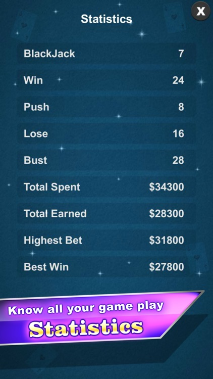 Blackjack Box Casino Card Game screenshot-3
