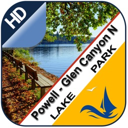 Powell - Glen Canyon N offline lake & park trails