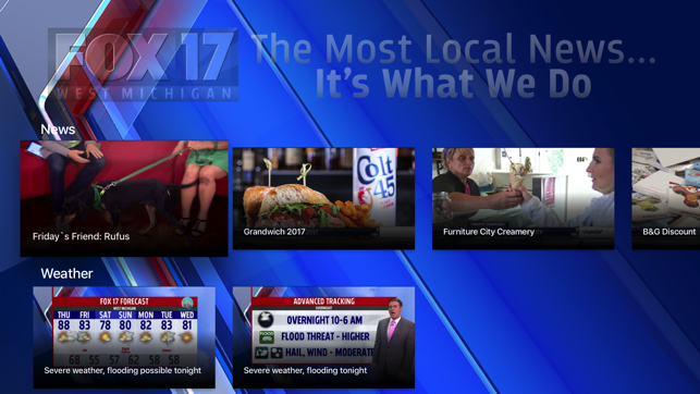 FOX 17 News Western Michigan on the App Store