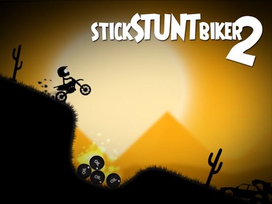 Stick Stunt Biker 2 на iPad