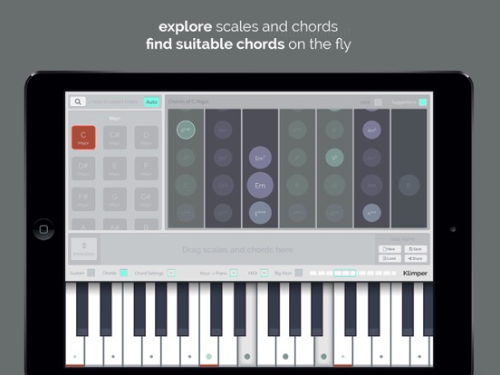 kord - Find Chords and Scales screenshot one