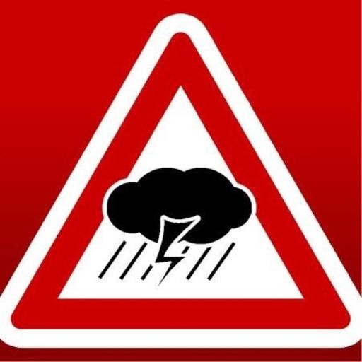 Unwetterwarnung BER BRA icon