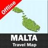 MALTA – GPS Travel Map Offline Navigator