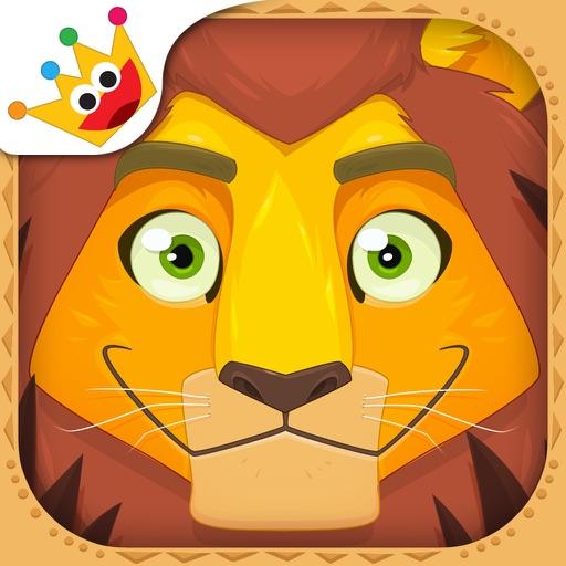 Африка: животные, игры для малышей 2-3 лет