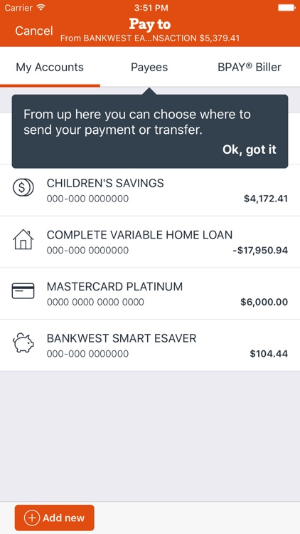 Bankwest screenshot-3