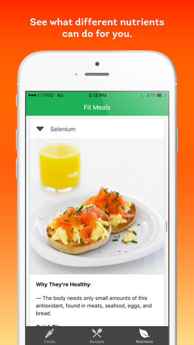 Fit Meals - healthy recipes and diet ingredients screenshot four