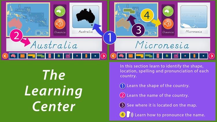 Oceania - Montessori Geography for Preschool & Up