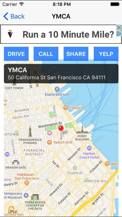 Gym Finder: Find Fitness Workout Gyms Near Me screenshot-4