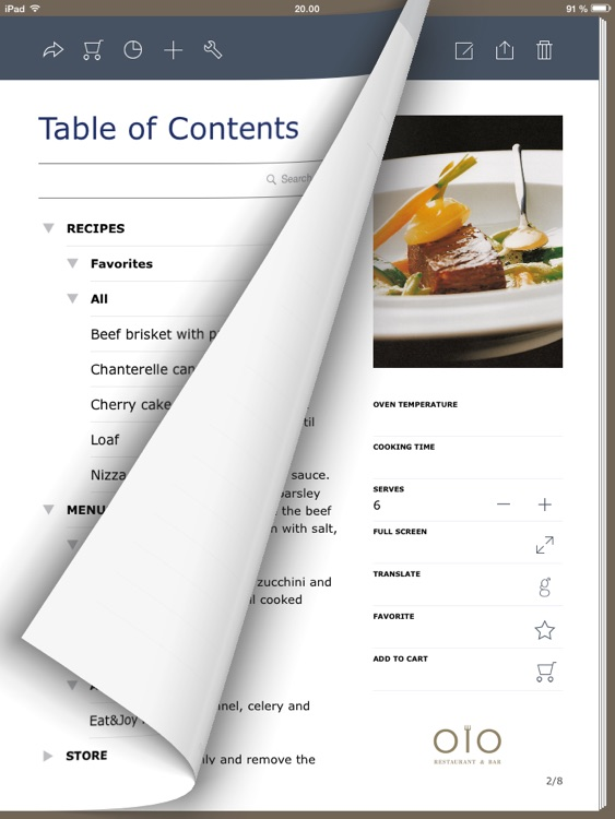 My Own Cookbook - Your Recipe Manager