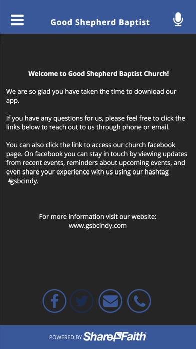 Good Shepherd Baptist screenshot three
