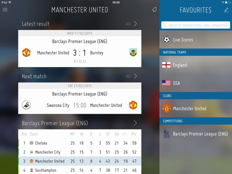 FIFA for iPad screenshot-0