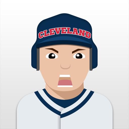 Cleveland Baseball Stickers & Emojis