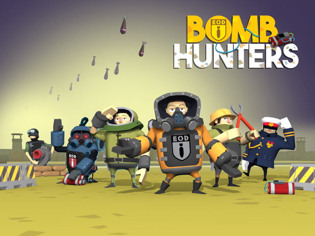 Bomb Hunters, game for IOS