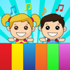 Kids piano sound touch