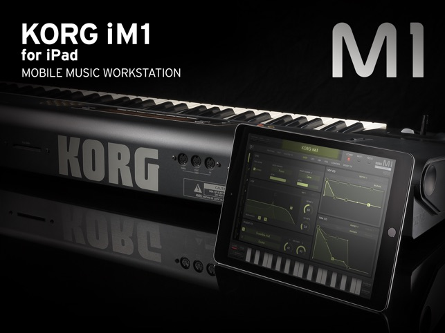 KORG iM1 Screenshot