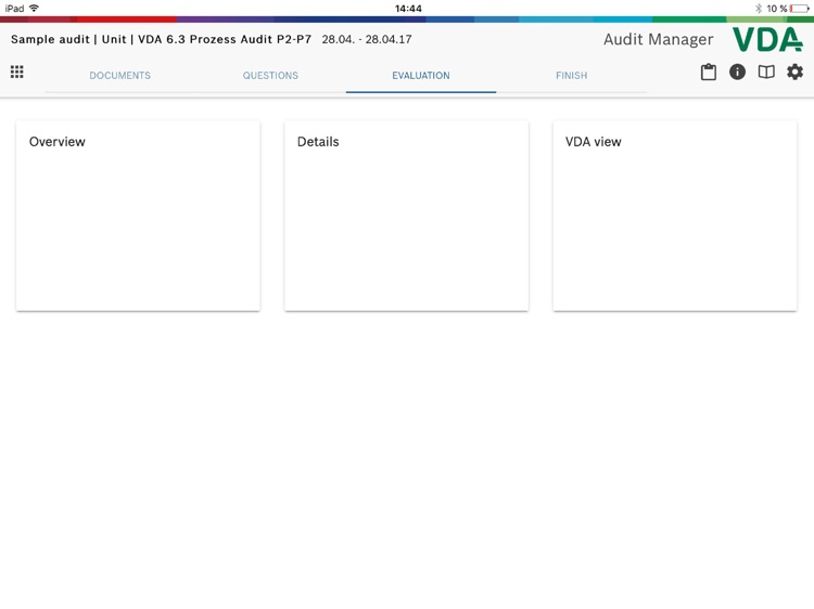 Audit Manager VDA 2016 screenshot-3
