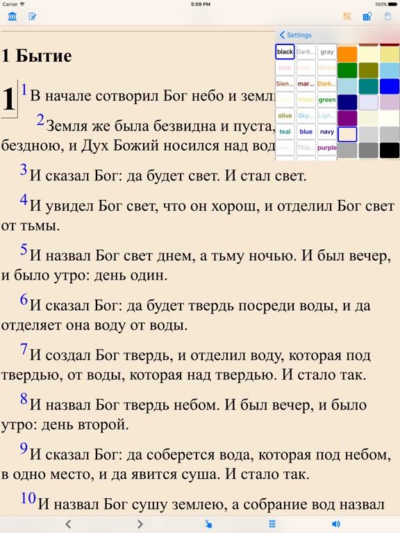 Библия (текст и аудио)(audio)(Russian Bible) Скриншоты8