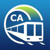 Vancouver U-Bahn-Führer mit offline Karte