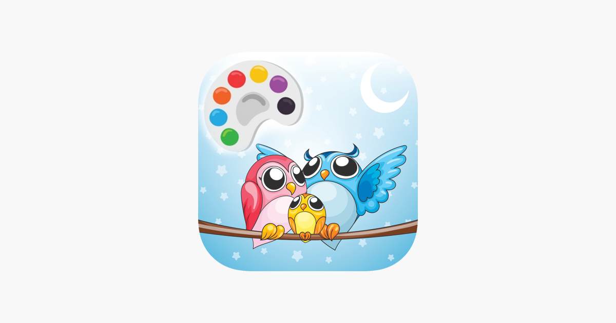 Kid Icin Sevimli Baykus Boyama Cizim Sayfalari App Store Da