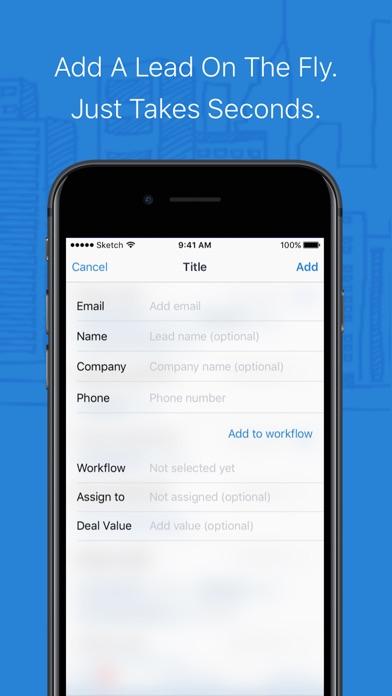 ClickHook Lead Management System screenshot