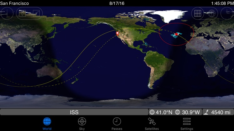 GoISSWatch ISS Tracking screenshot-4
