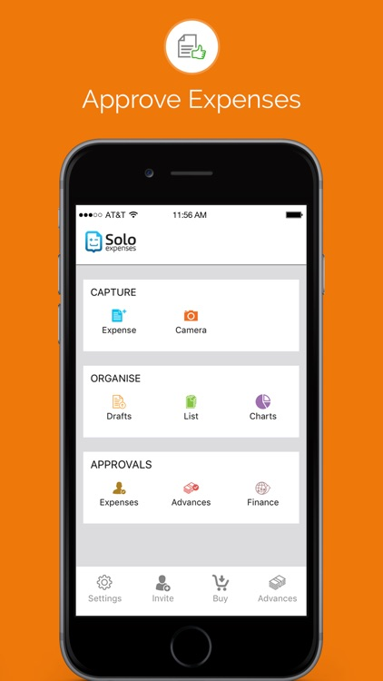 Solo Expenses - Expense Report & Receipt tracking