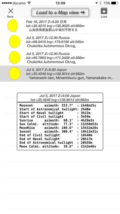 SunSet,MoonRiseX screenshot-3