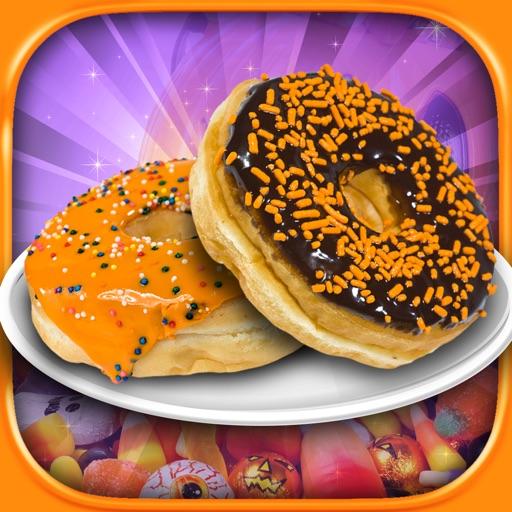 Halloween Donut Maker Dessert Food Cooking Game