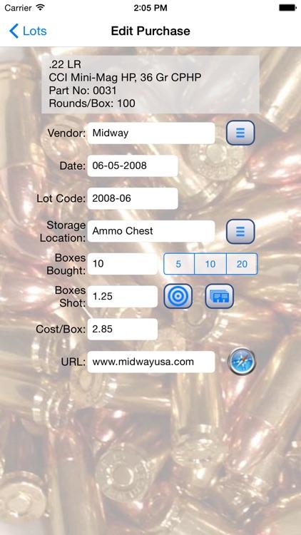 AmmoBase screenshot-3