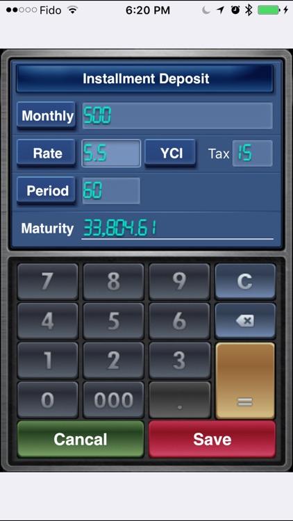 EZ Interest Calculator Lite screenshot-3
