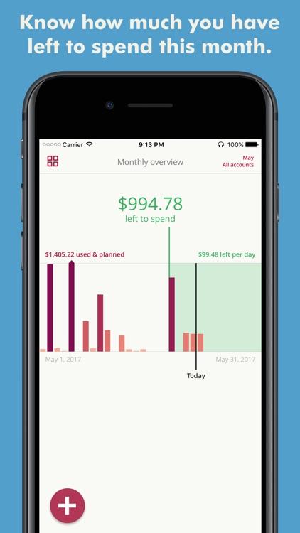 Toshl Finance - expense tracker & budget manager screenshot-3