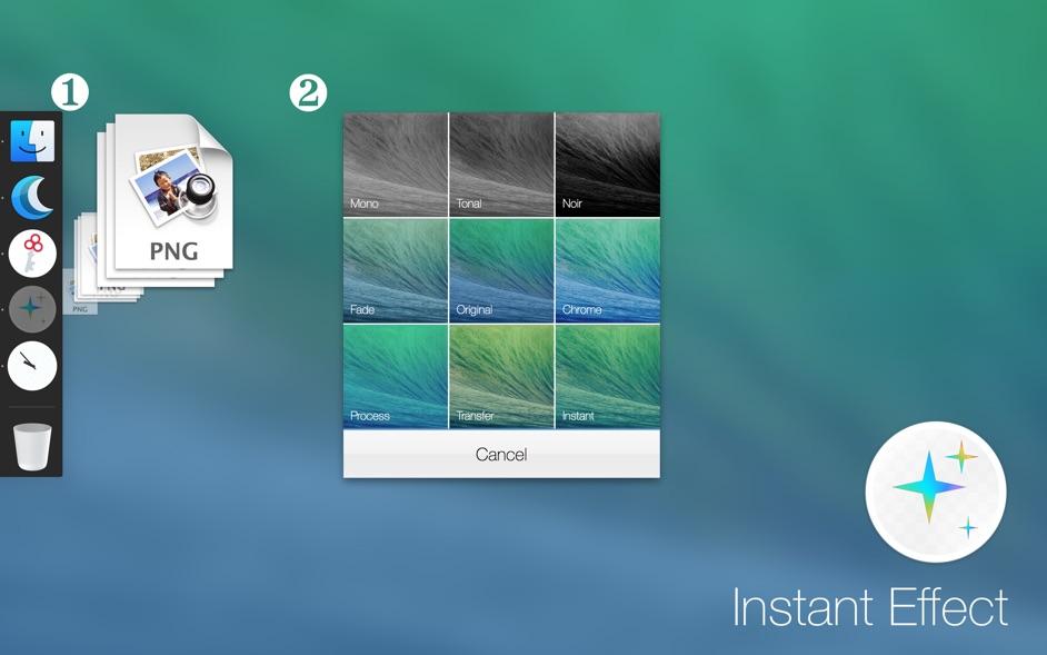 Instant Effects for Mac 1.1.1 破解版 – 超简洁的图片效果实用工具-爱情守望者