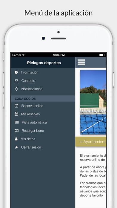 Piélagos deportes screenshot 5