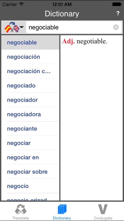 Spanish-English Translator (Offline) screenshot-4