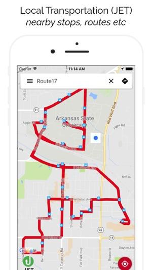 Asu Jonesboro Campus Map.A State Smartcampus On The App Store