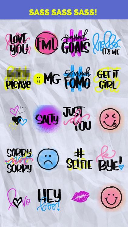 Sassy Stickers: Animated