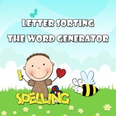 Activities of Spelling Bee - Letters Sorting, Find Words