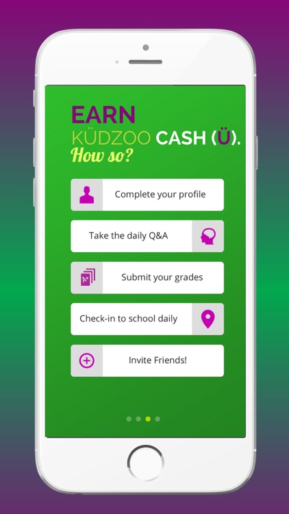 KÜDZOO - Student Rewards screenshot-2