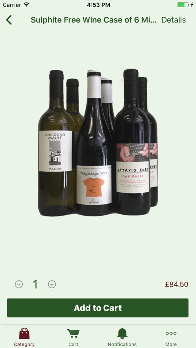 Organic Wine Club: handpicked organic wine screenshot two