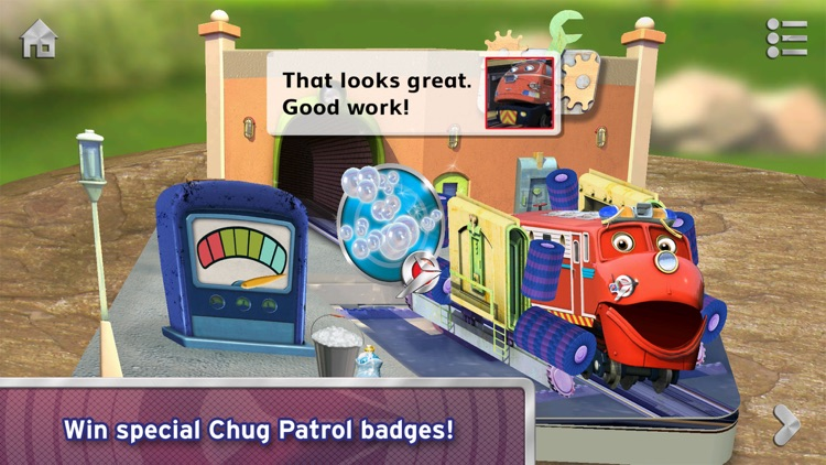 Chug Patrol: Ready to Rescue ~ Chuggington Book screenshot-4