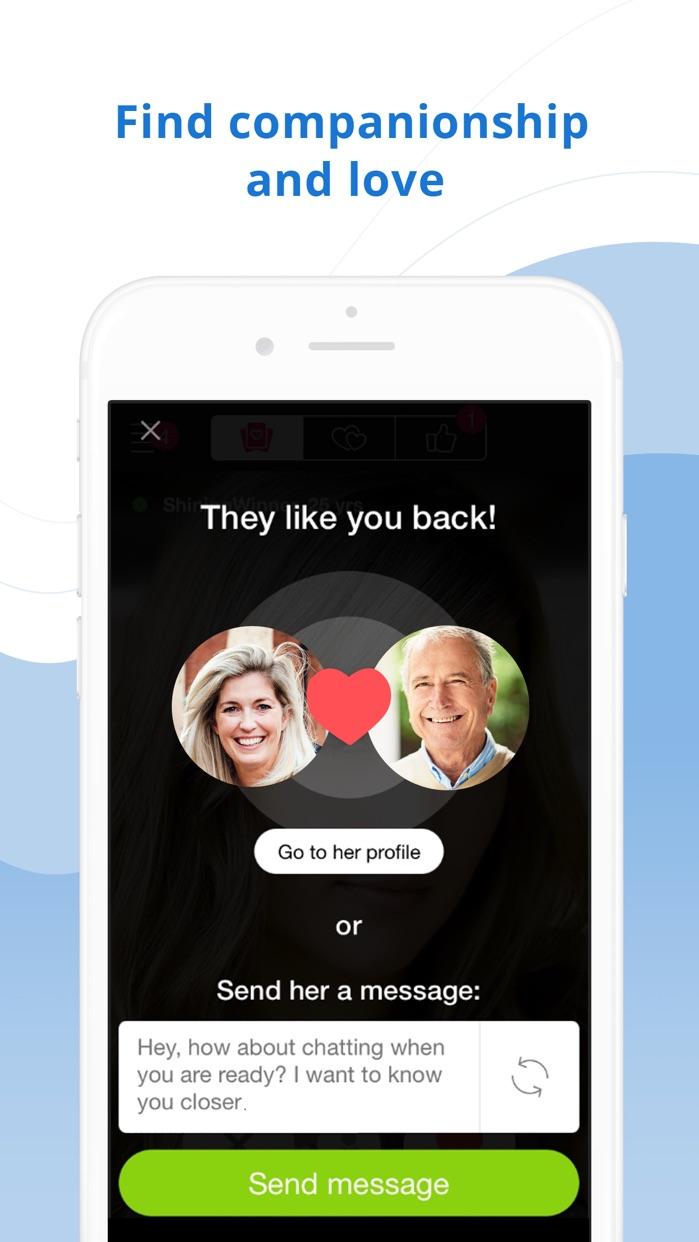 Mature Dating Network Screenshot