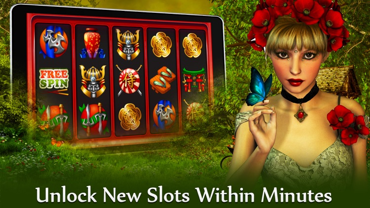 Slot Machine - Butterfly Mystics